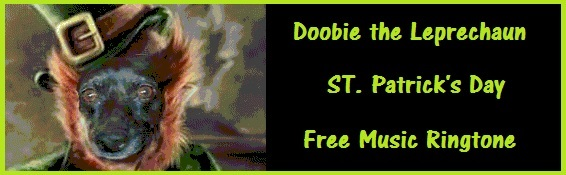 Doobie the Leprechaun - ST. Patrick's Day Free Music Ringtone Download